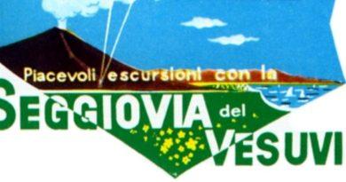 La seggiovia del Vesuvio